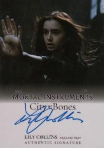 2013 Leaf The Mortal Instruments: City of Bones Autograph Guide 12