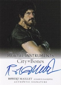 2013 Leaf The Mortal Instruments: City of Bones Autograph Guide 14