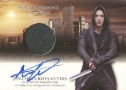 2013 Leaf The Mortal Instruments: City of Bones Autograph Guide 18