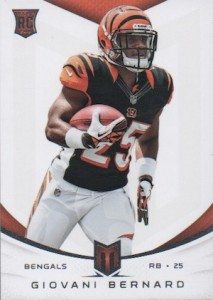 Giovani Bernard Rookie Card Checklist and Guide 26