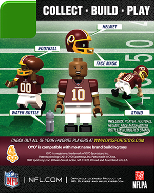 2013 OYO NFL Minifigures Checklist and Guide