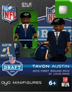 Playtime: 2013 OYO NFL Minifigures 4