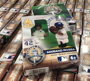 2013 OYOs Mariano Rivera Retirement Minifigure