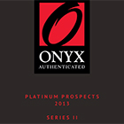 2013 Onyx Authenticated Platinum Prospects Series 2 Baseball Cards