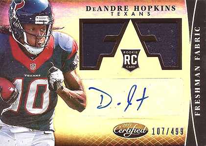 DeAndre Hopkins Rookie Card Checklist and Guide 3