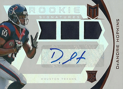 DeAndre Hopkins Rookie Card Checklist and Guide 6