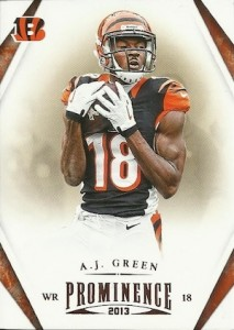 2013 Panini Prominence Football Cards 21