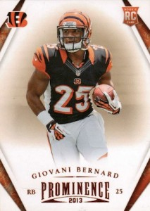 Giovani Bernard Rookie Card Checklist and Guide 31
