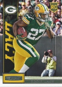 Eddie Lacy Rookie Card Checklist and Visual Guide 30