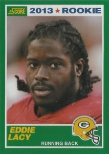 Eddie Lacy Rookie Card Checklist and Visual Guide 32