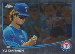 2013 Topps Chrome Baseball Variation Short Prints Guide 42