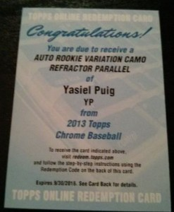 2013 Topps Chrome Baseball - Top Early Pulls and Hit Tracker 4