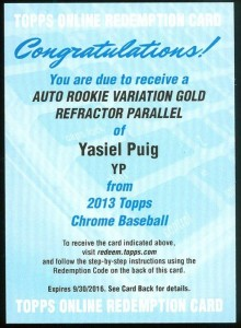 2013 Topps Chrome Baseball - Top Early Pulls and Hit Tracker 7