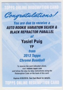 2013 Topps Chrome Baseball - Top Early Pulls and Hit Tracker 5