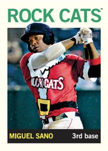 2013 Topps Heritage Minor League Variations Miguel Sano