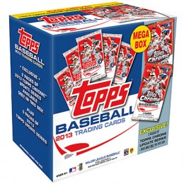 2013 Topps Chrome Update Series Holiday Mega Box