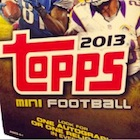 2013 Topps Mini Football Cards
