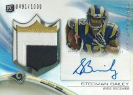 2013 Topps Platinum Football Cards 6
