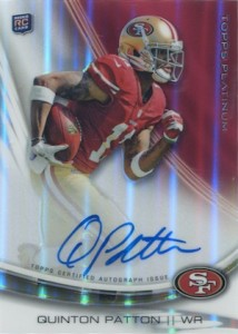 2013 Topps Platinum Football Cards 5