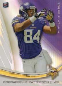 2013 Topps Platinum Football Cards 4