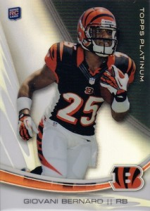 Giovani Bernard Rookie Card Checklist and Guide 11
