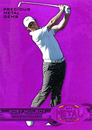 2013 Upper Deck Employee Precious Metal Gems Purple Rory McIlroy