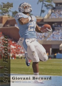 Giovani Bernard Rookie Card Checklist and Guide 42