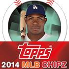 2014 Topps MLB Chipz Baseball