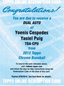 2013 Topps Chrome Baseball - Top Early Pulls and Hit Tracker 6
