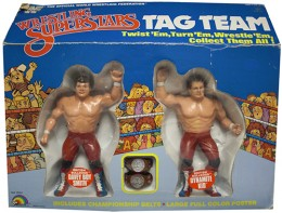 LJN WWF British Bulldogs