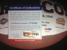 Peyton Manning Signed Ball 3