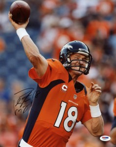Peyton Manning Signed Photo 2