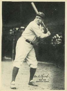 1929 Kashin Publications Babe Ruth