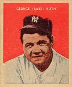 Babe Ruth Baseball Cards and Memorabilia Guide 22