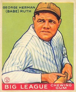 Babe Ruth Baseball Cards and Memorabilia Guide 55