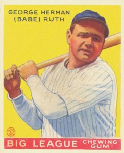 Babe Ruth Baseball Cards and Memorabilia Guide 52