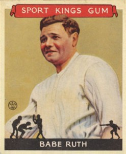 Babe Ruth Baseball Cards and Memorabilia Guide 49