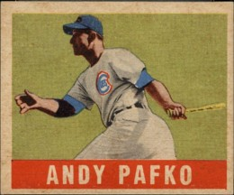 Andy Pafko Cards and Autograph Memorabilia Guide 20