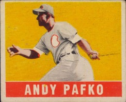 1948-49 Leaf Andy Pafko #125 RC - Color Variation