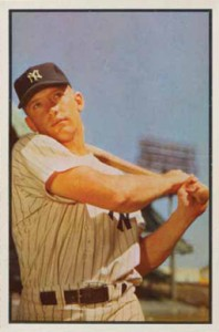 1953 Bowman Mickey Mantle