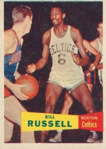 Top 10 Bill Russell Basketball Cards of All-Time 1