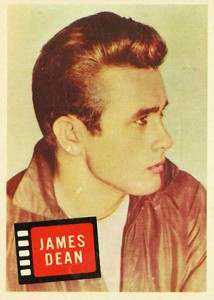 1957 Topps Hit Stars James Dean