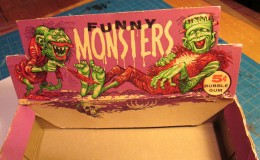 1959 Topps Funny Monsters Box