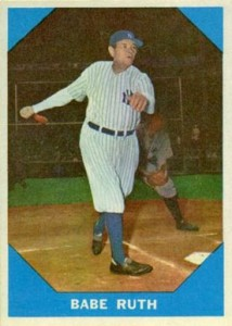 1960 Fleer Baseball Greats Babe Ruth