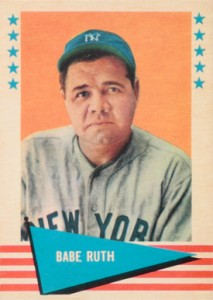 1961 Fleer Baseball Greats