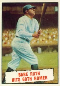 1961 Topps Babe Ruth