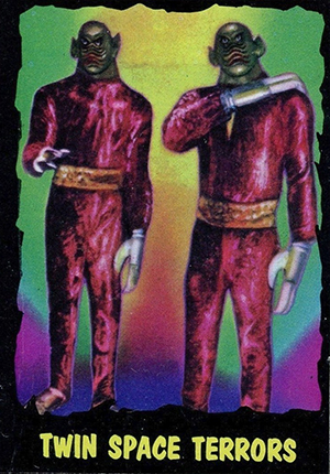 1964 Topps Monsters from Outer Limits Trading Cards 24