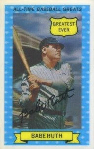 Babe Ruth Baseball Cards and Memorabilia Guide 29