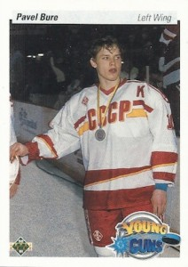 1990 91 Upper Deck Young Guns Pavel Bure 212x300 Image
