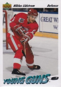 1991 92 Upper Deck Young Guns Niklas Lidstrom 212x300 Image